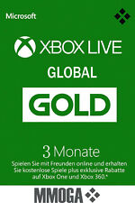 [Global] Xbox Live Gold Mitgliedschaft - 3 Monate Key Xbox 360 One 3 Month Code*