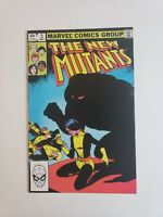 New Mutants #3 1st Cameo Appearance of Demon Bear Marvel Comics 1983