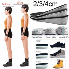 Memory Foam Height Increase Elevator Insoles Pads Soles Feet Mats Inner Massage