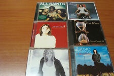 LOTTO 6 CD Antonaci, Anouk, Tori Amos, Angelina, All Saints, Alizée