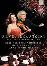 New Year's Eve Concert 2015 - Imon Rattle - Anne-Sophie Mutter (NEW DVD)