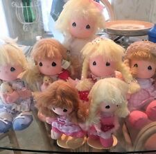 VINTAGE PRECIOUS MOMENTS APPLAUSE DOLLS - LOT OF 7