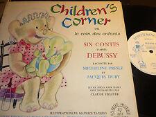 25 CM  Children's corner >OU LE COIN DES ENFANTS  d apres debussy