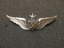 """Original U S Army Senior Astronaut Wings / Badge. 2 1/2"""". Meyer. Nice."""