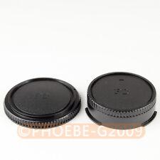 DSLRKIT Rear Lens + Camera body Cover cap for CANON FD Camera
