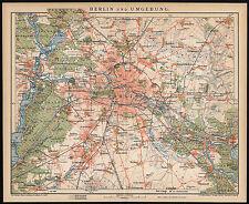 Map Of Germany In 1800.Germany Berlin 1800 1899 Date Range Antique Europe Maps Atlases Ebay