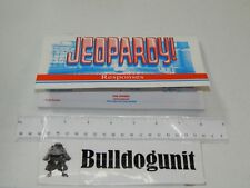 1999 Jeopardy Board Game Replacement Response Solutions Book Only