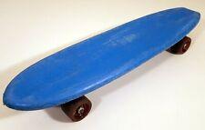 ACEX SKOOTER 1970s VINTAGE SKATEBOARD OLD-SCHOOL BLUE BANANA BOARD 1977