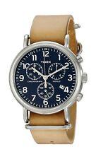 Timex Weekender Chronograph 40mm Watch Tan/Blue