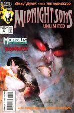 Midnight Sons Unlimited #2 (July 93) - Moribius - Ghost Rider - Darkhold