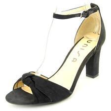 Sandali e scarpe nere Unisa per il mare da donna