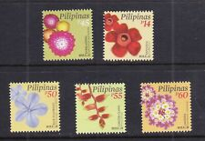 2019 Philippine Definitive Flower Everlasting, Rafflesia, Lantana, 5v  mint NH