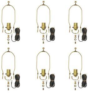 Westinghouse 7026900 - Make-A-Lamp Kit, Push-Through Socket - Pack of 6