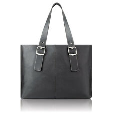 """SOLO PLAZA Classic Laptop Tote safely fits the 17"""" MacBook - K708"""