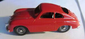 Dinky Toys Porsche 356 rot Nr.182 Meccano 1:43  Original made in England