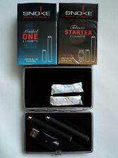 SNOKE  E- Zigarette 2 Stück + Etui + 2 Caps
