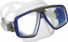 Équipements de plongée masque, lunettes bleus