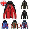 Men Jacket Windproof Waterproof Full Zipped Rain Outdoor Camping Hiking Coat F/1