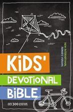 Kids Devotional Bible, NIrV Over 300 Devotions by Zondervan Hardcover BRAND NEW!