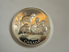 1996 Canada Commemorative Sterling Silver Fifty Cent - Discovering Nature Series