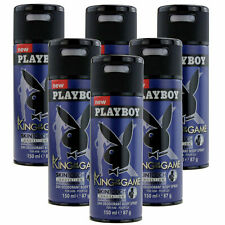 6 x 150ml Playboy King of the Game Deo Deodorant Parfüm Bodyspray Body Spray