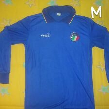 Maglia  calcio shirt football italy trikot 1986 -1990 Nazionale Italia  vintage