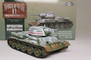 CORGI CLASSICS CC51602 1/50 RUSSIAN T-34 TANK, SOVIET ARMY, JANUARY 1943