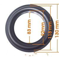 "1pcs 5"" inch 117A Bullous horn rubber edge Speaker repair parts surround repair"