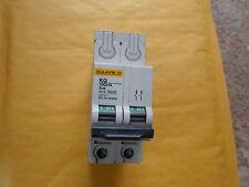 SQUARE D D16 16 Amp 10D216 double pôle MCB Disjoncteur