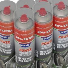 Presto 307287 Power Bremsenreiniger 600ml Spraydose mehr Druck 6 Stück