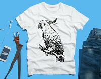 Cockatoo Parrot Bird FUNNY Novelty T SHIRT Tee