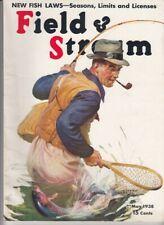 Vintage MAY 1938 FIELD & STREAM magazine hunting fishing  Arthur D. Fuller cover
