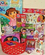 NEW DORA TOY EASTER TOY GIFT BASKET birthday TOYS DOLL BATH TUB ART PLAY SET