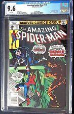 The Amazing Spider-Man #175 CGC 9.6 Death of Hitman, Punisher Apperance Dec.1977