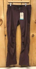prAna Women's Halle Pant Stretch Hiking Pants w DWR Cocoa Size 10 Short Length