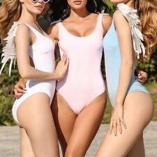 Mujeres traje de baño de una pieza ropa de playa Traje de Baño push-up Monokini Bikini baño