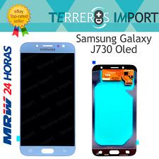 Pantalla Completa LCD Oled Original Self Samsung Galaxy J730 J7 2017 Silver Azul