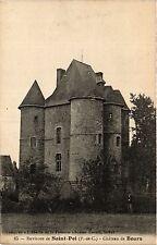CPA Env. De SAINT POL Chateau de Bours (414404)