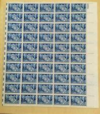 Us full mint sheet of 50 #906 China Resistance Sun Yat sen Mnh Og