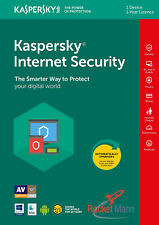 Kaspersky Internet Security 2018 1 PC 1 Year Multi Device Licence