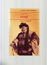 CAMBRIDGE OPERA HANDBOOK-FALSTAFF-VERDI-1ST 1983 FN-SUPERB HISTORIC/ANALYSIS