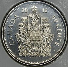 CANADA 50 CENTS 2012 Logo in MS