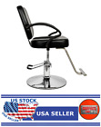 HC106 Woman Barber Chair Hairdressing Chair Black - GT