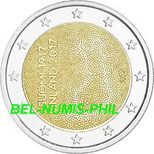 FINLAND I 2017 - 2 euromunt - 100 jaar Onafhankelijkheid/Indépendance - UNC