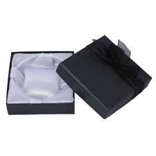 "5 Black Square Bracelet Bangle Gift Box Case 3.5x1.3"" HOT WS A5L4 K5P9"