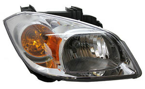 New Replacement Headlight Assembly w/Amber Signal RH / FOR COBALT & PONTIAC G5