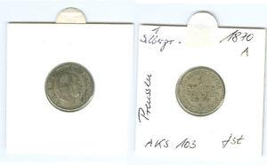 Preussen  1 Silbergroschen 1870 A  fast stempelglanz