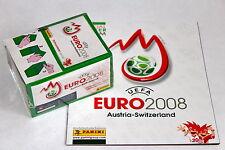 Panini EM Euro 2008 – 1 x Display Box GRÜN GREEN sealed/OVP RARE SHINY + ALBUM