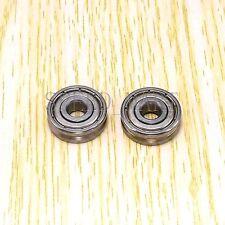 2pcs V625ZZ 625VV V Groove Guide Pulley Rail Ball Bearings Metal (5mm*16mm*5mm)