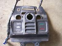 suzuki lt250 lt250ef quadrunner odometer hood dash plastic 1986 1985 85 86